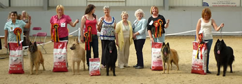 Championship Show Winners 12 June 2010